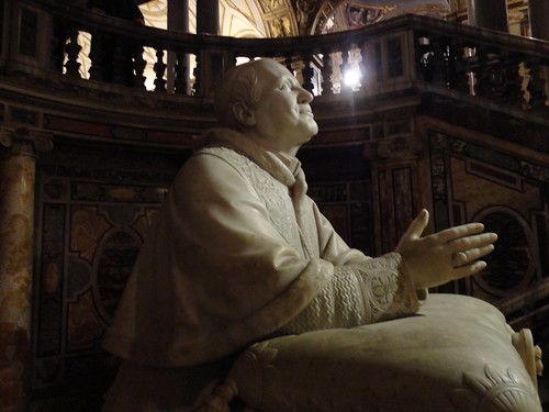 Pope Pius IX at Santa Maria Maggiore #happy365 H365/42 by Jenelle Blevins