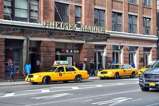 Entrada al Mercado de Chelsea