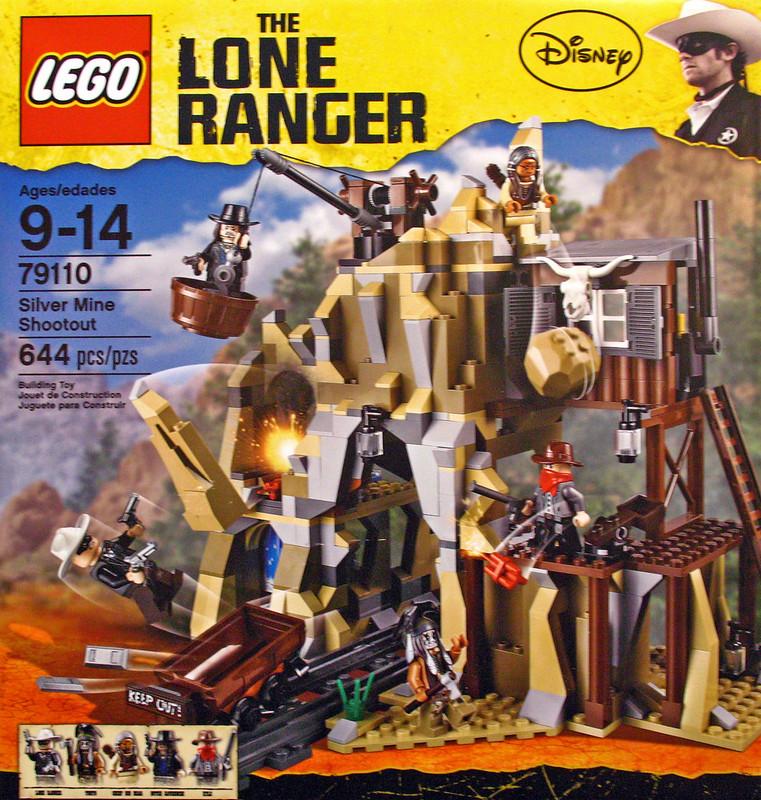 LEGO The Lone Ranger 79110 - Silver Mine Shootout