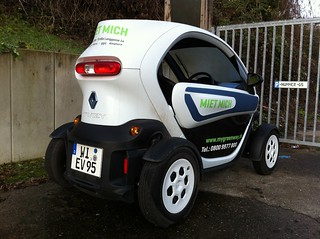 Renault Twizy Mietmich!