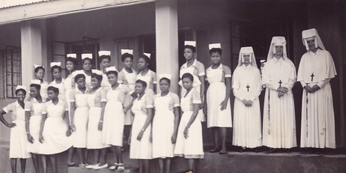 Sisters and nurses at Zonkwa Hospital
