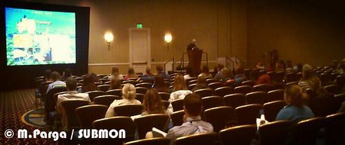 Presentation during the medicine workshop, Baltimore