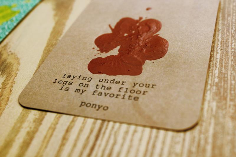 {valentine 2013} note from ponyo