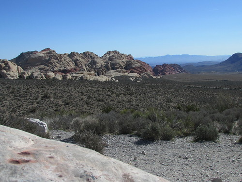 Looking Toward Vegas from Red Rock Canyon
