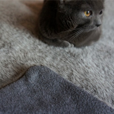 DIY Fur Blanket