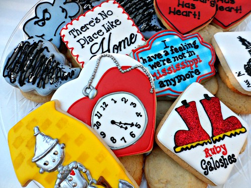 Hattiesburg Tornado cookies by Vicki's Sweets