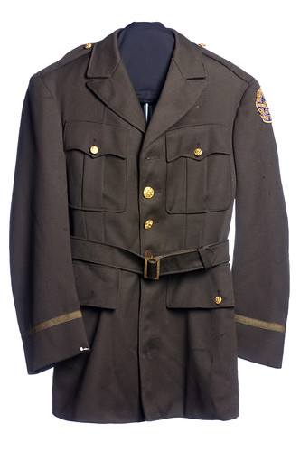 South Carolina Defense Force uniform coat and cap, World War II