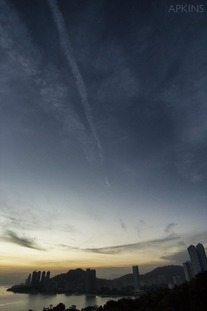 Sunrise at Batu Feringghi Penang Malaysia