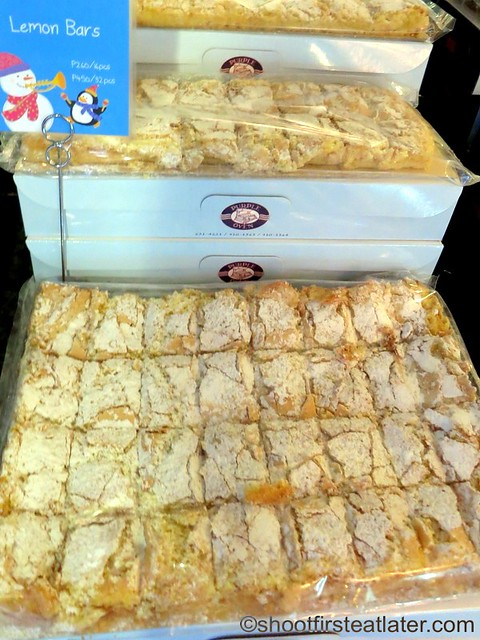 lemon bars 16 pcs P260 32 pcs P450