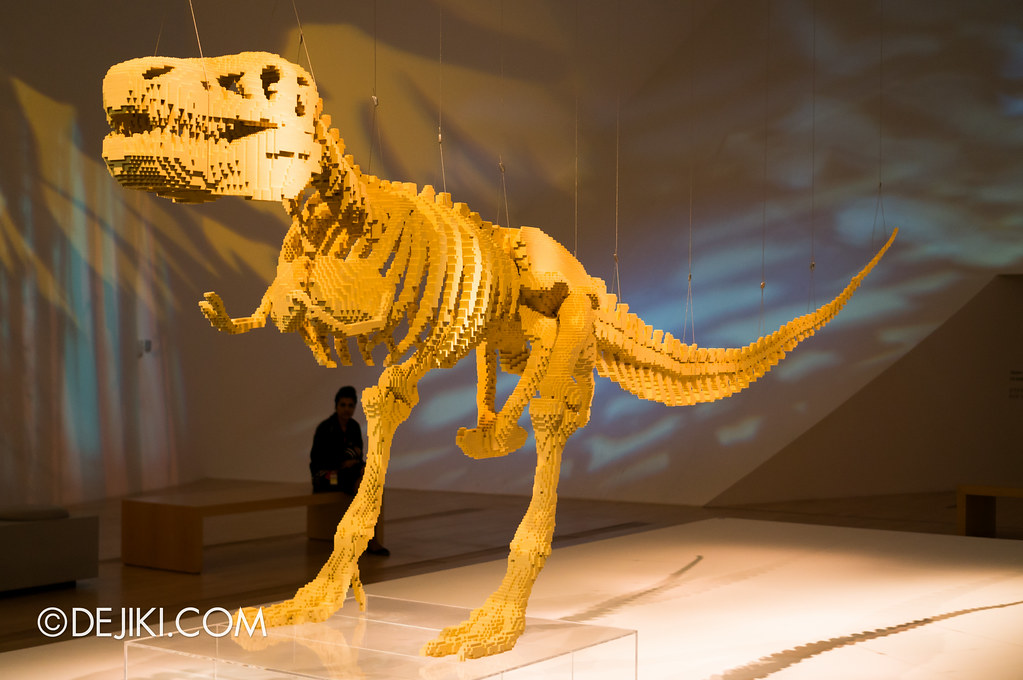 Art of The Brick - T-Rex Skeleton