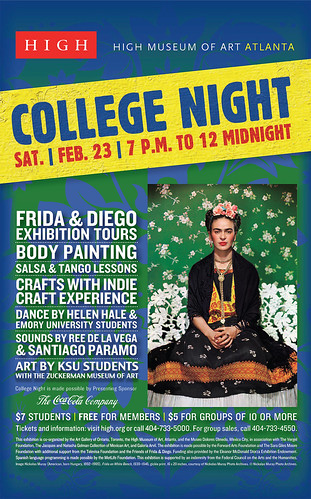 College Night at the High Museum
