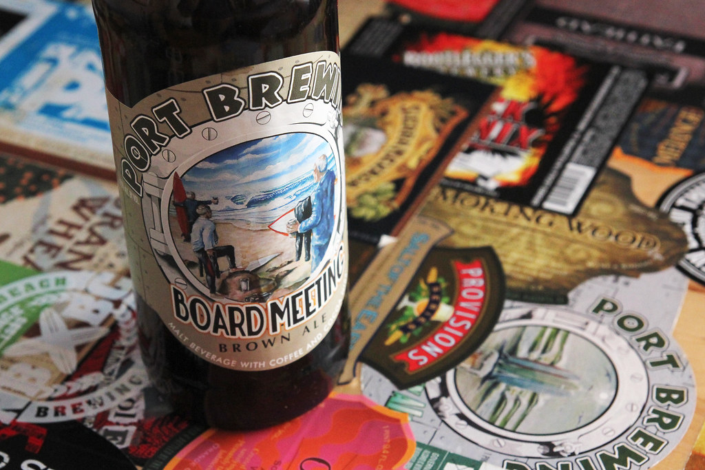 New Brew Thursday : Board Meeting : Lost Abbey/Port Brewing Co