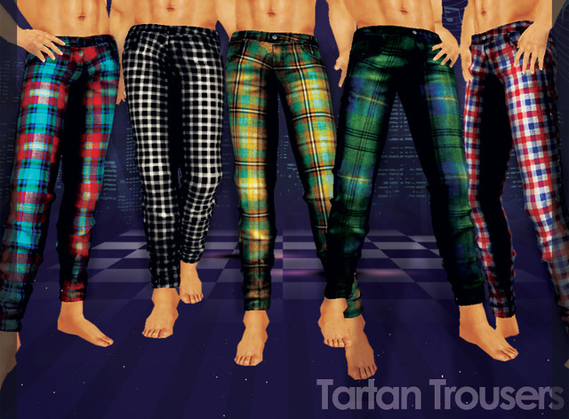Reila : Tartan Trousers (49L Sale For Dudes)