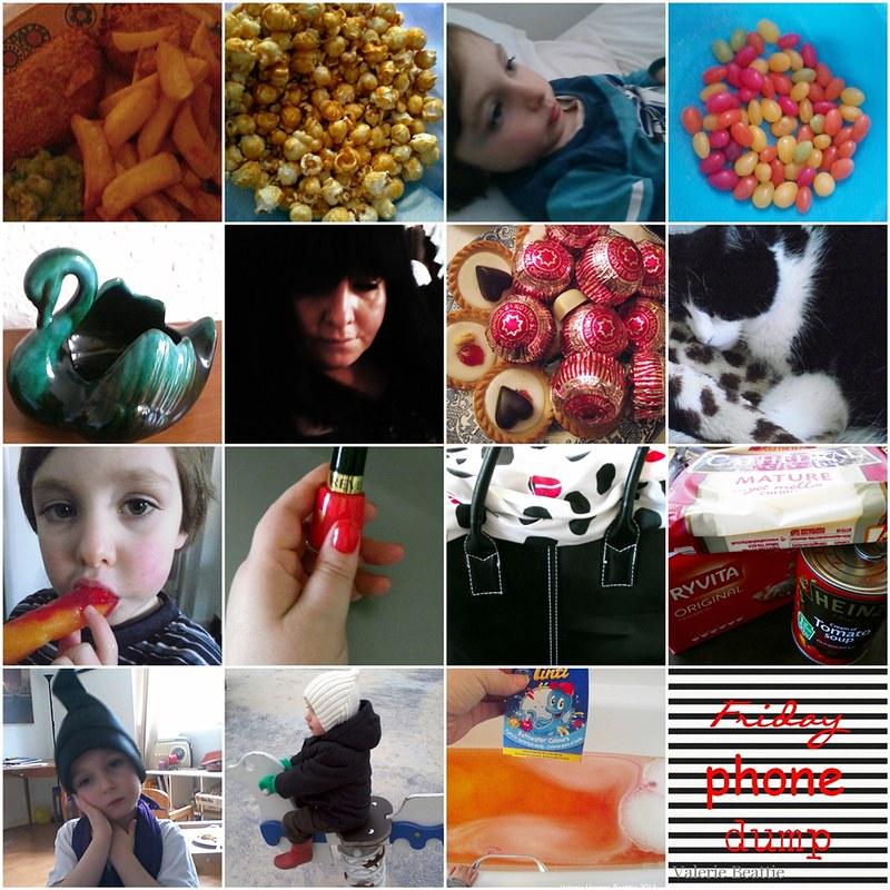 fish chips popcorn jellybeans swan teacakes ice lolly cats revlon nail varnish