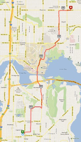 Today's awesome walk, 5.26 miles in 1:39 by christopher575