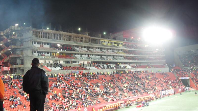 avances construccion estadio caliente febrero 2013