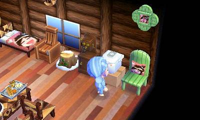 月さんデザの家具がある