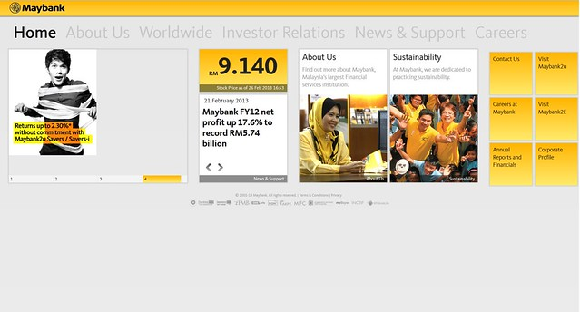 Maybank.com New Website