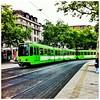 Hannover - die Stadt mit den giftgrünen Bahnen