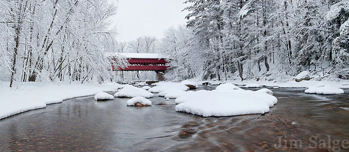 Swift River Covered Bridge by Jim Salge