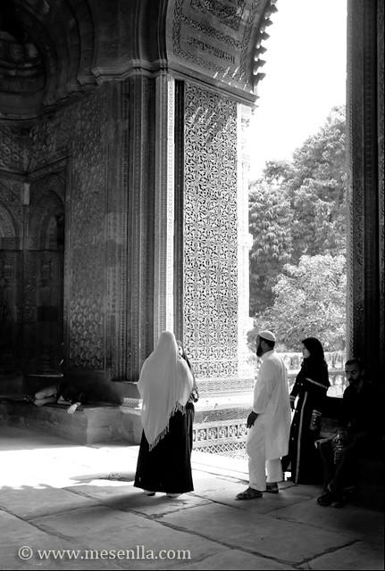 Interior palacio Qtub Minar