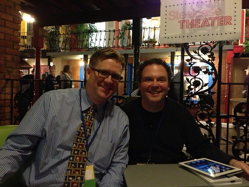 Wes Fryer and Zack Gilbert at #ice13