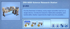 ZRX-9000 Science Research Station