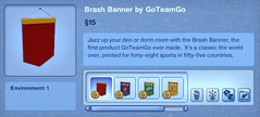 Brash Banner by GoTeamGo