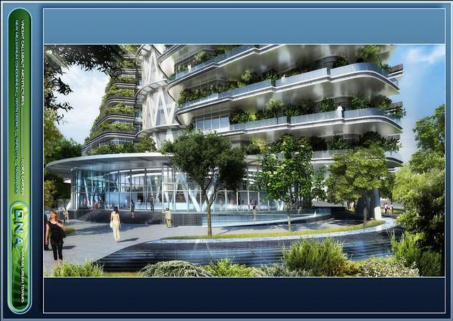Vincent Callebaut - Taipei AGORA GARDEN LUXURIOUS ...