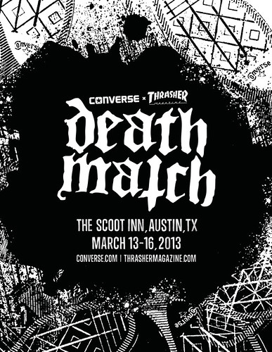Converse/Thrasher Death Match 2013 SXSW