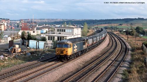 train diesel railway britishrail southyorkshire freighttrain class56 56112 mexboroughsouthjunction