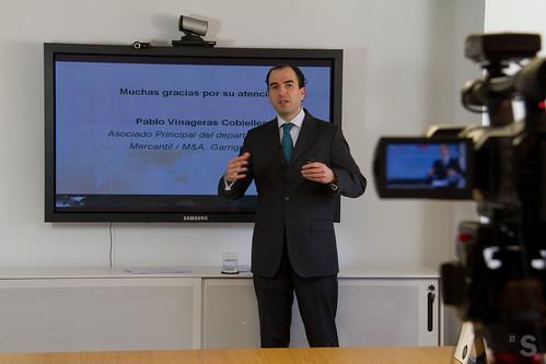 Videosesión del programa Exportar para Crecer