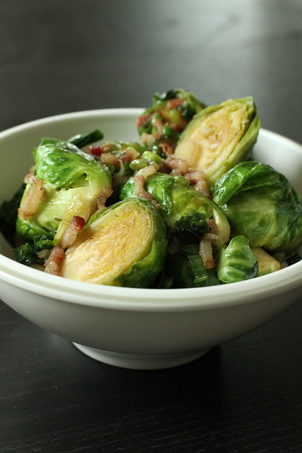 Asianesque Brussels Sprouts