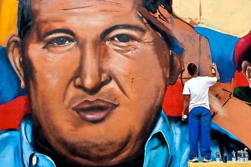 Cercle Obert de Benicalap con Hugo Chávez y la Revolución Bolivariana