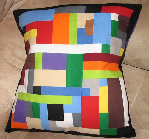 Lego Love Pillow by Sharon in MI