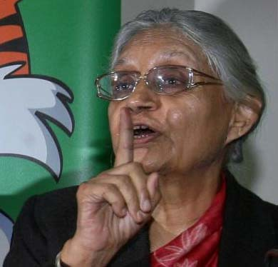 Sheila Dikshit - The Chief Minister of Delhi
