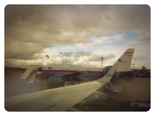 Flugzeuge in Zürich