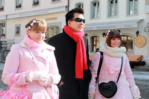 Tourist Trio