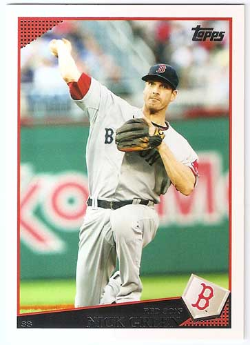 2009 Topps Update Nick Green