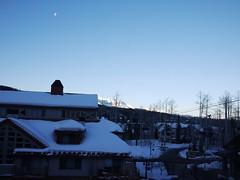 土, 2013-03-02 07:04 - 朝のお月様(半月)