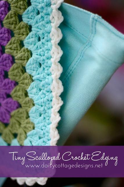 Scalloped Crochet Edging Flickr - Photo Sharing!