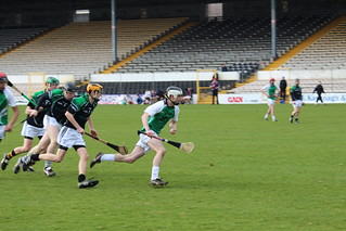Scoil Mhuire on the attack