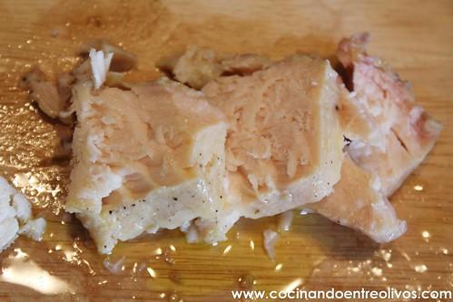 Ensalada de esturirón de Riofrío www.cocinandoentreolivos (24)