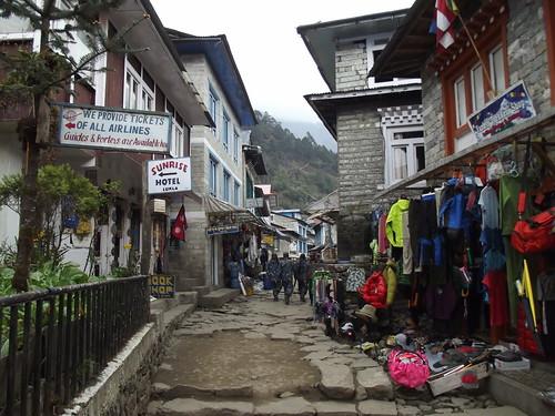 Lukla, Nepal.