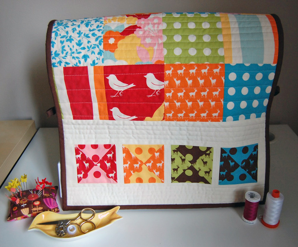 Oh Deer! Sewing Machine Cover Tutorial