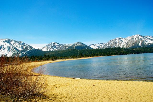 kiva beach on lake tahoe