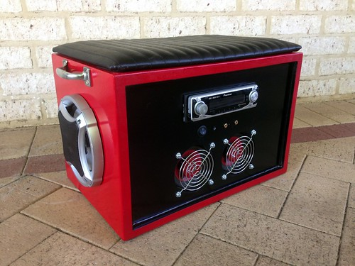 Finished Boombox Front