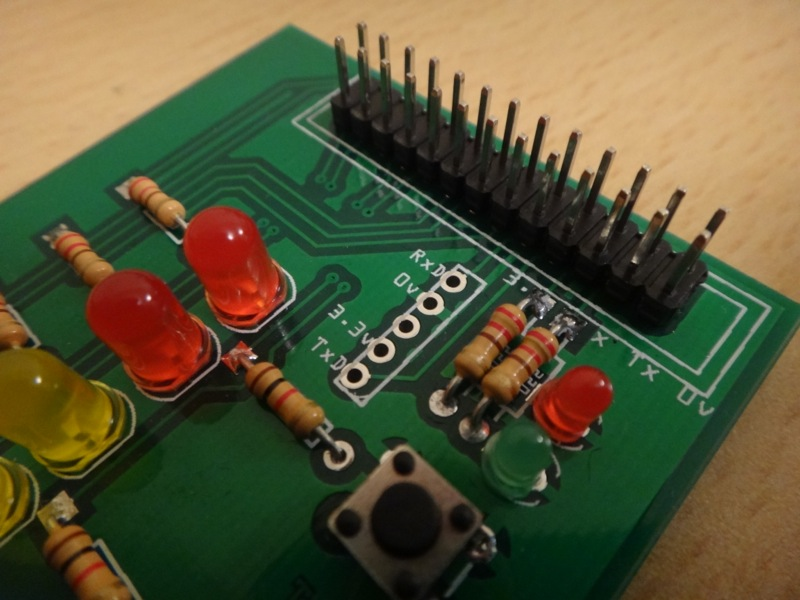 Pi Ladder Board Serial Header