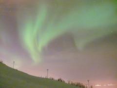 Aurores boréales à Tromsø