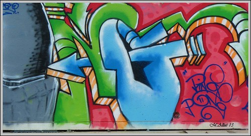 Grafitti by Miguel Allué Aguilar